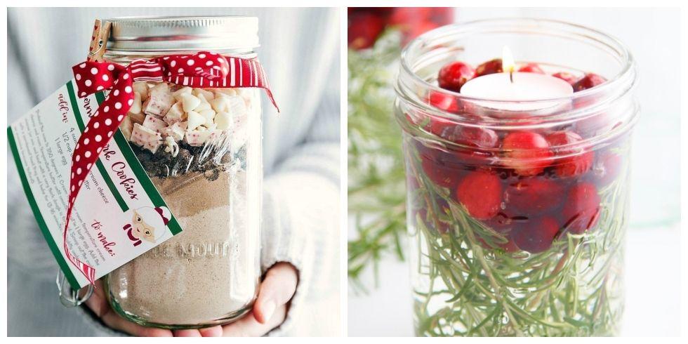47 Mason Jar Christmas Crafts Fun Diy Holiday Craft Projects