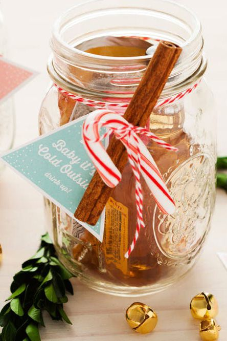 mason jar christmas crafts cocktail kits