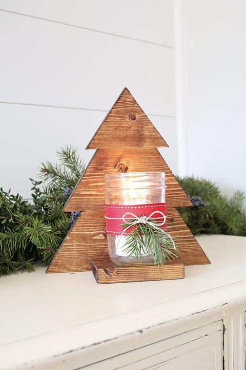 mason jar christmas crafts sconce