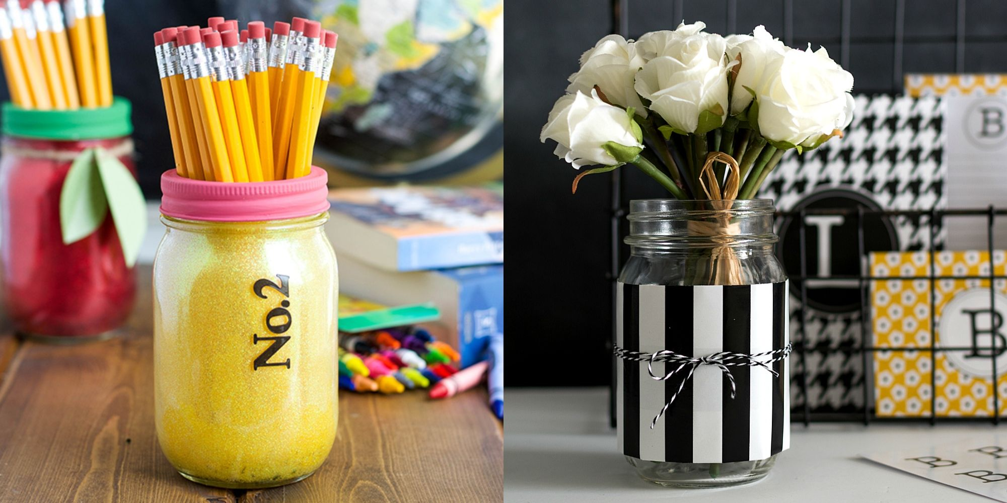 65 Brilliant Mason Jar Decor Ideas That Go Way Beyond Flower Vases