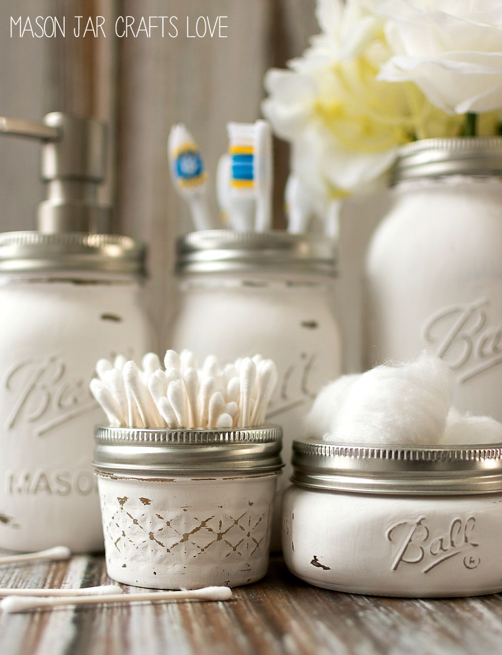 8 Great Mason Jar Ideas - Easy Crafts and Decor for Mason Jars