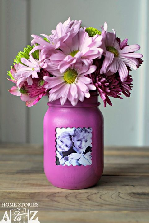 mason jar decor picture