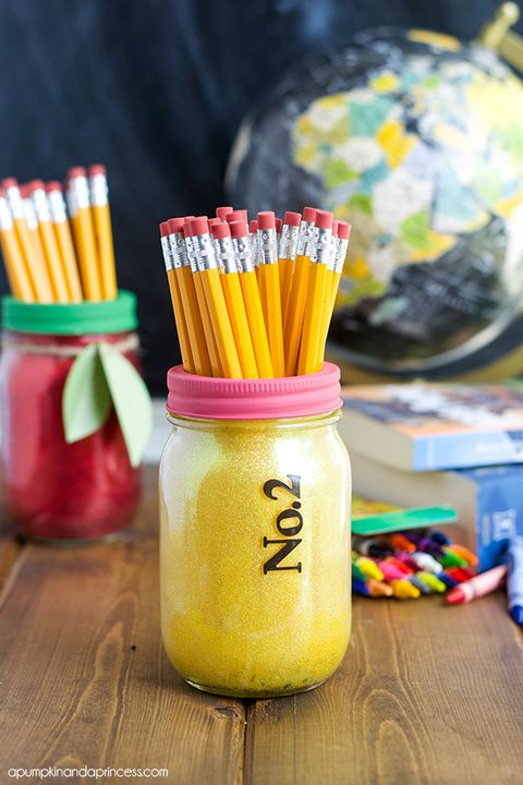 mason jar decor teacher