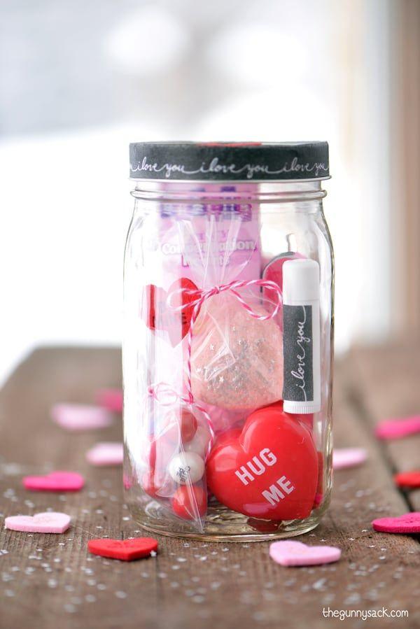 Valentine's Day Mason Jar - DIY Valentine's Day Gifts