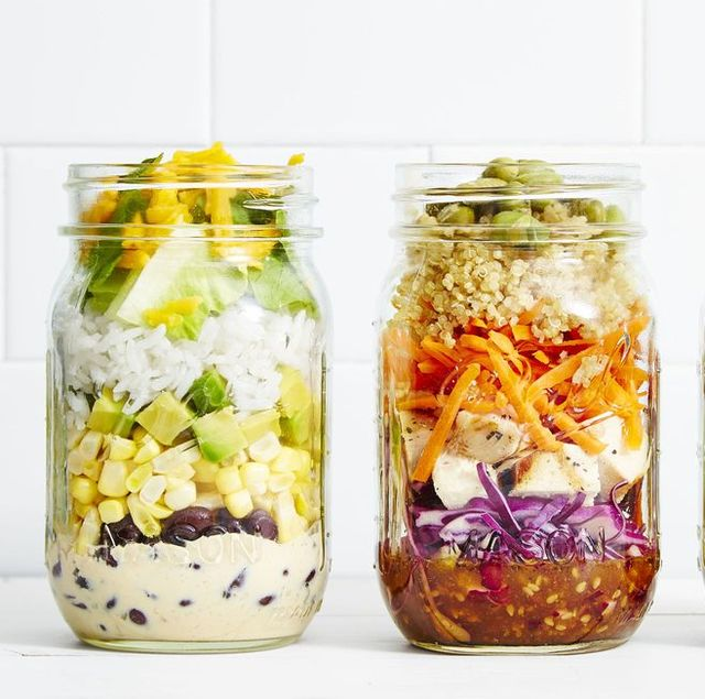 7 Best Mason Jar Salad Recipes Easy Salads In A Jar