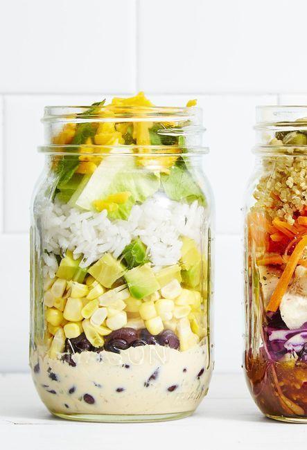 7 Best Mason Jar Salad Recipes - Easy Salads in a Jar
