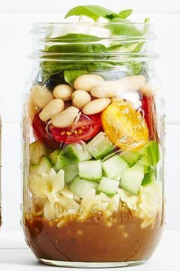 7 Best Mason Jar Salad Recipes Easy Salads In A Jar