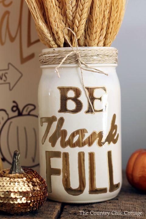 60 Diy Thanksgiving Decoration Ideas Easy Thanksgiving Decor Crafts