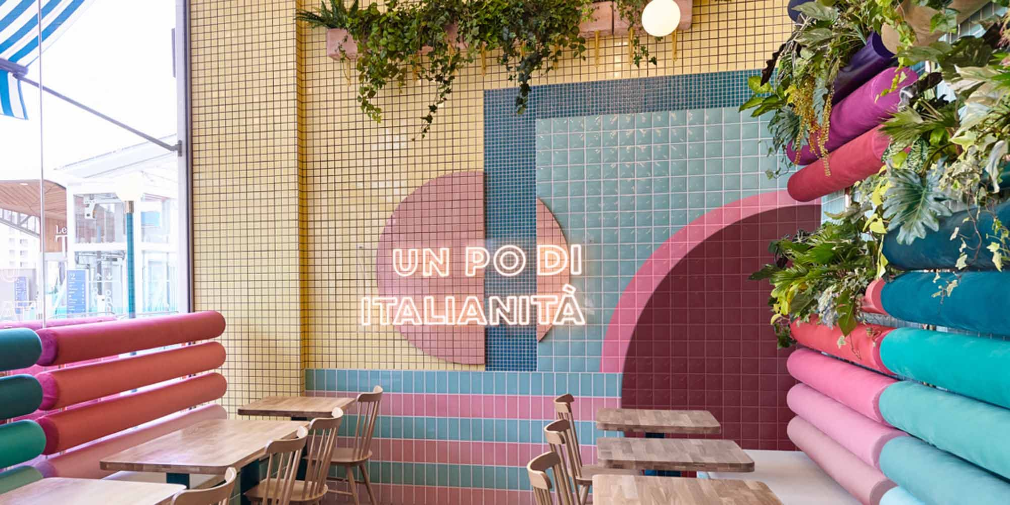 Dit is misschien wel het kleurrijkste restaurant ooit