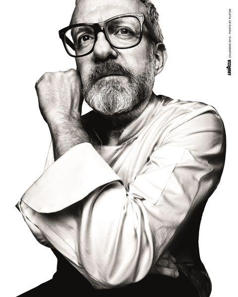 Massimo Bottura ritratto per Lavazza