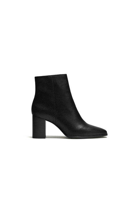 Footwear, Shoe, Boot, Leather, High heels, Suede,