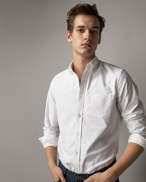 Camisa oxford hombre, camisa oxford