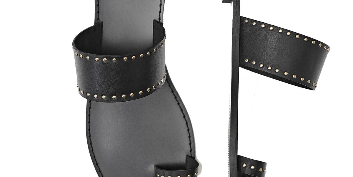cb2d7a26f72 Las sandalias planas negras de Massimo Dutti que tienen lista de espera (y  nosotras estamos en ella)