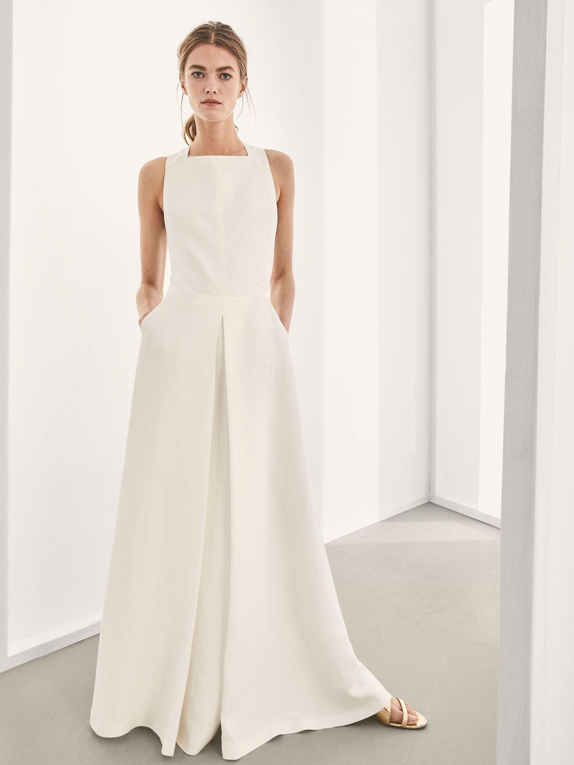 6553ba9f7 Massimo Dutti vende los dos vestidos de novia más bonitos de la temporada