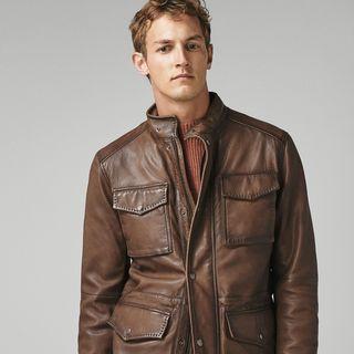 c1bed77ce0e0a Así se llevan las chaquetas de cuero en el otoño de 2018