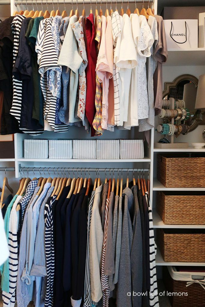 Organize Your Clothes 10 Creative And Effective Ways To Store And Hang Your Clothes: 30 Closet Organization Ideas