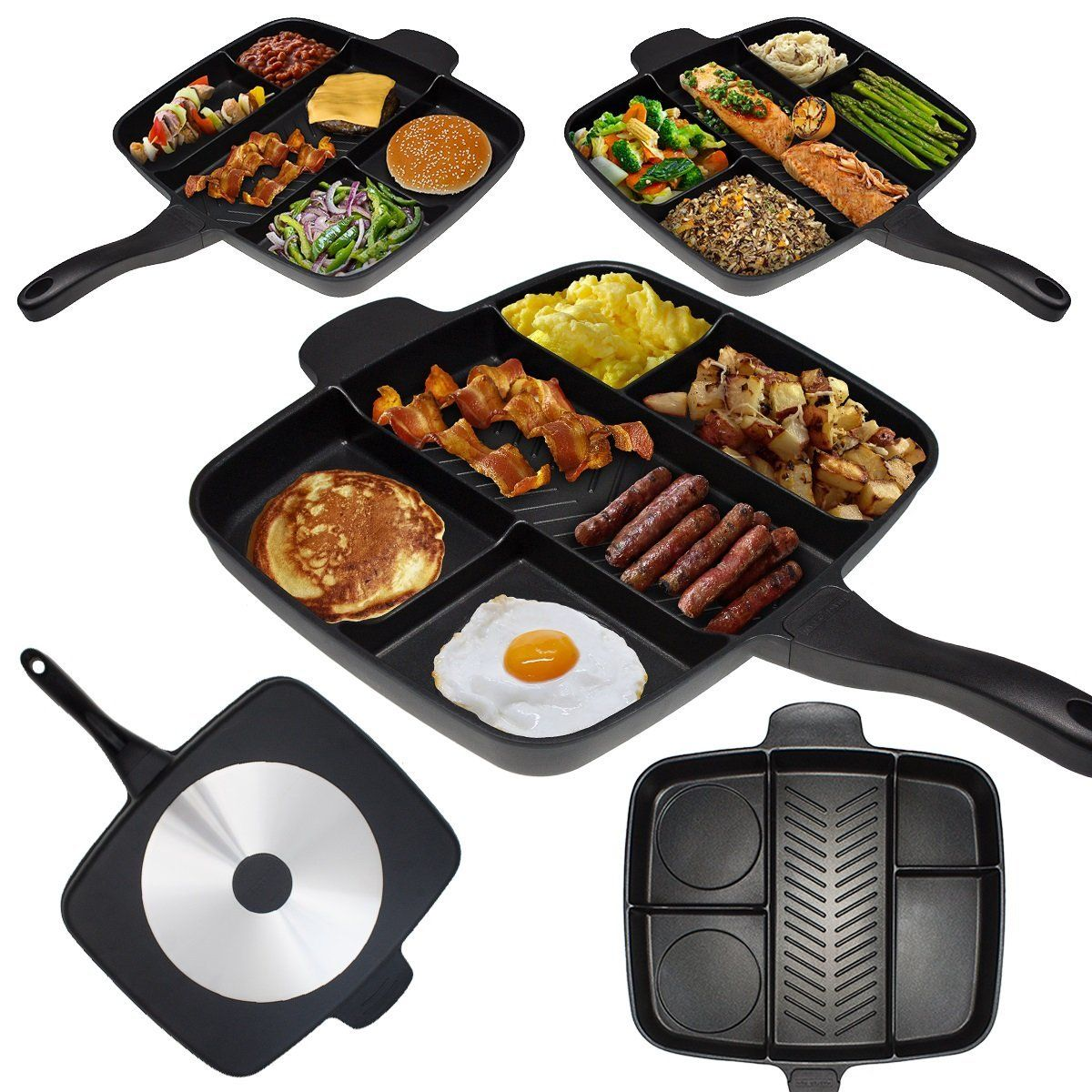 Master Pan Divided Frying Pan