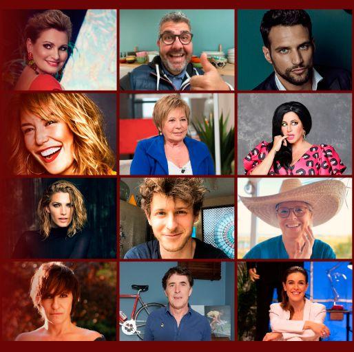 las imágenes de los 16 concursantes de masterchef celebrity 5
