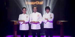Pepe Rodríguez, Samantha Vallejo Nágera y Jordi Cruz en Masterchef 7