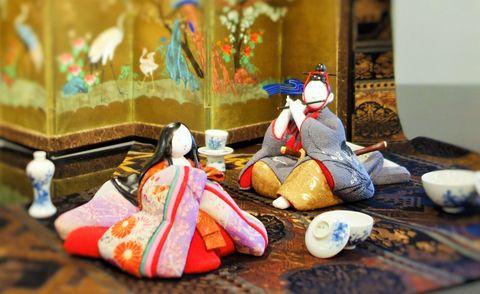 工房ikuko「増田としこ  人形展 彩  色 いろ  古裂あそび  雛あそび」