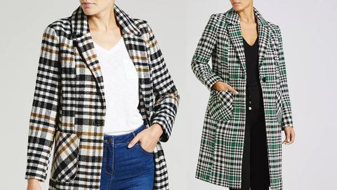 d61c3c2bc20e Matalan's affordable checked coats are getting so much attention