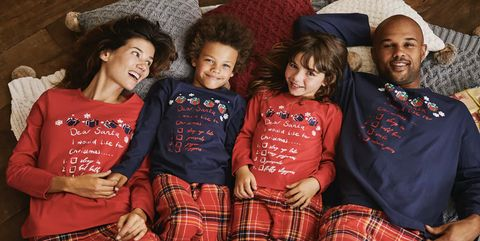 matching christmas family pyjama sets
