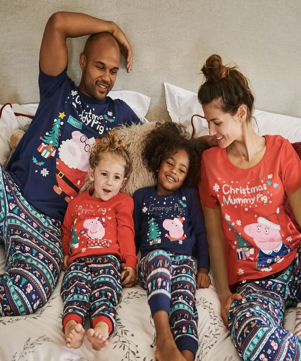 matching christmas family pyjamas