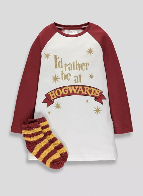 aa52b4b3b1 Matalan s selling matching mother daughter Harry Potter pyjamas