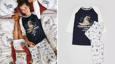 99a633bc65fef Matalan's selling matching mother daughter Harry Potter pyjamas
