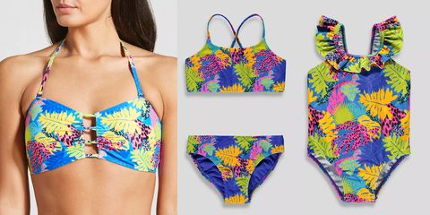 Matalan is selling matching mother and daughter swimwear