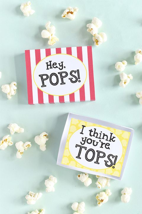 matchbox diy fathers day cards