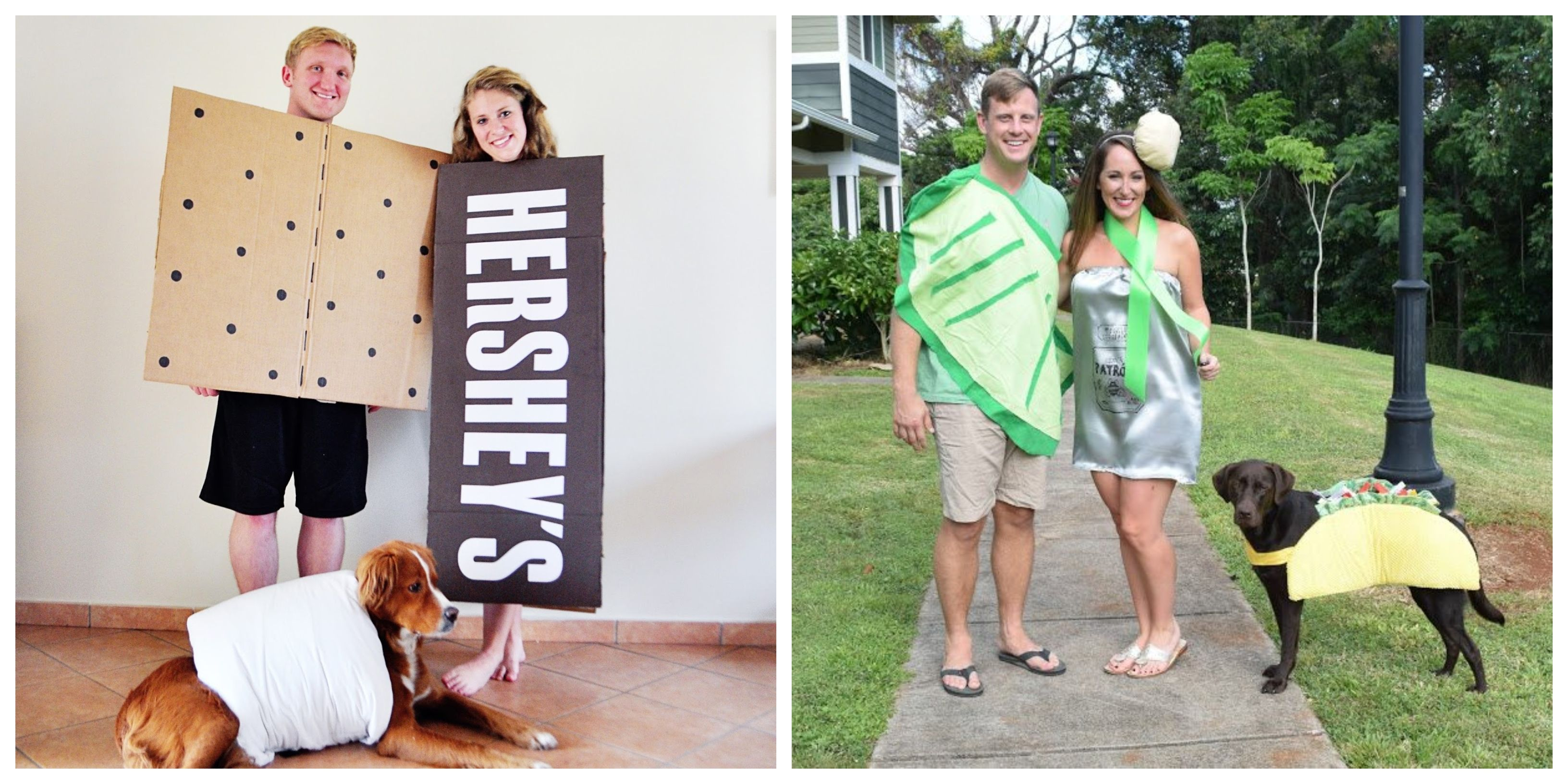 20 adorable costumes you can wear with your dog - pet couple costume