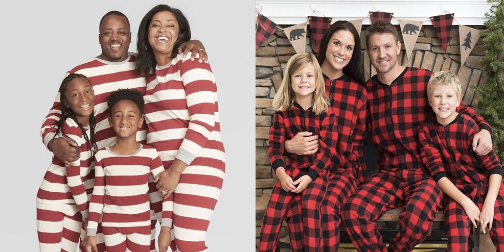 15 best matching family christmas pajamas to celebrate in the coziest way possible