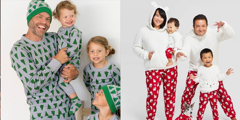 UK Christmas Matching Children Pyjamas Set Kid Baby Boy Girl Sleepwear Nightwear