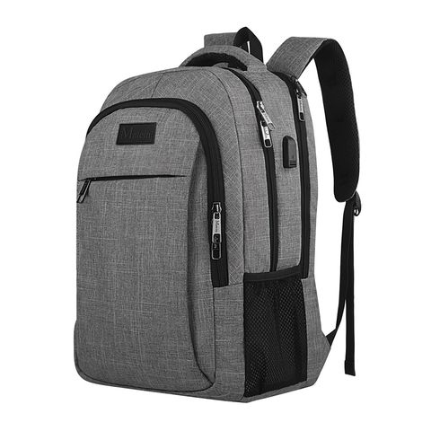 matein gray laptop backpack