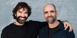 Mateo Gil y Luis Tosar