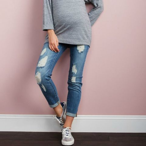 Luxe Essentials maternity jeans