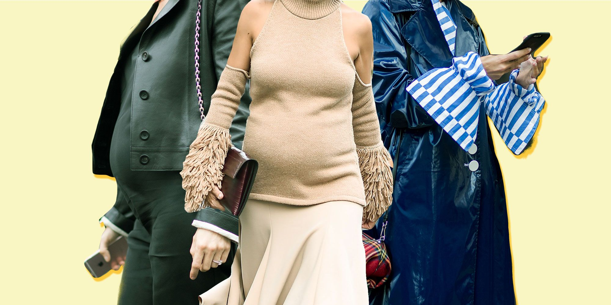 How To Dress Your Bump: Fashion Insiders Address Maternity Style