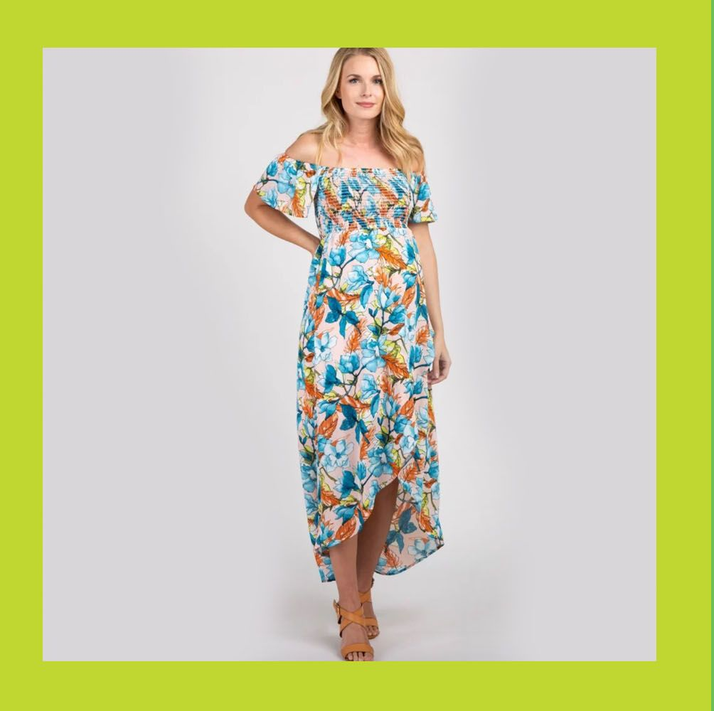 14 Maternity Summer Dresses to Show Off Your Growing Baby Bump