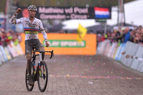 Mathieu van der Poel debuteert in 2020 in Strade Bianche en Milaan-San Remo