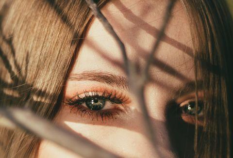 Face, Eyebrow, Hair, Eyelash, Eye, Close-up, Iris, Organ, Skin, Head,
