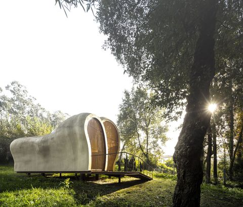 Galería de Arte MATO en Portugal, de FCC Arquitectura, inspirada en la obra de Paulo Neves.