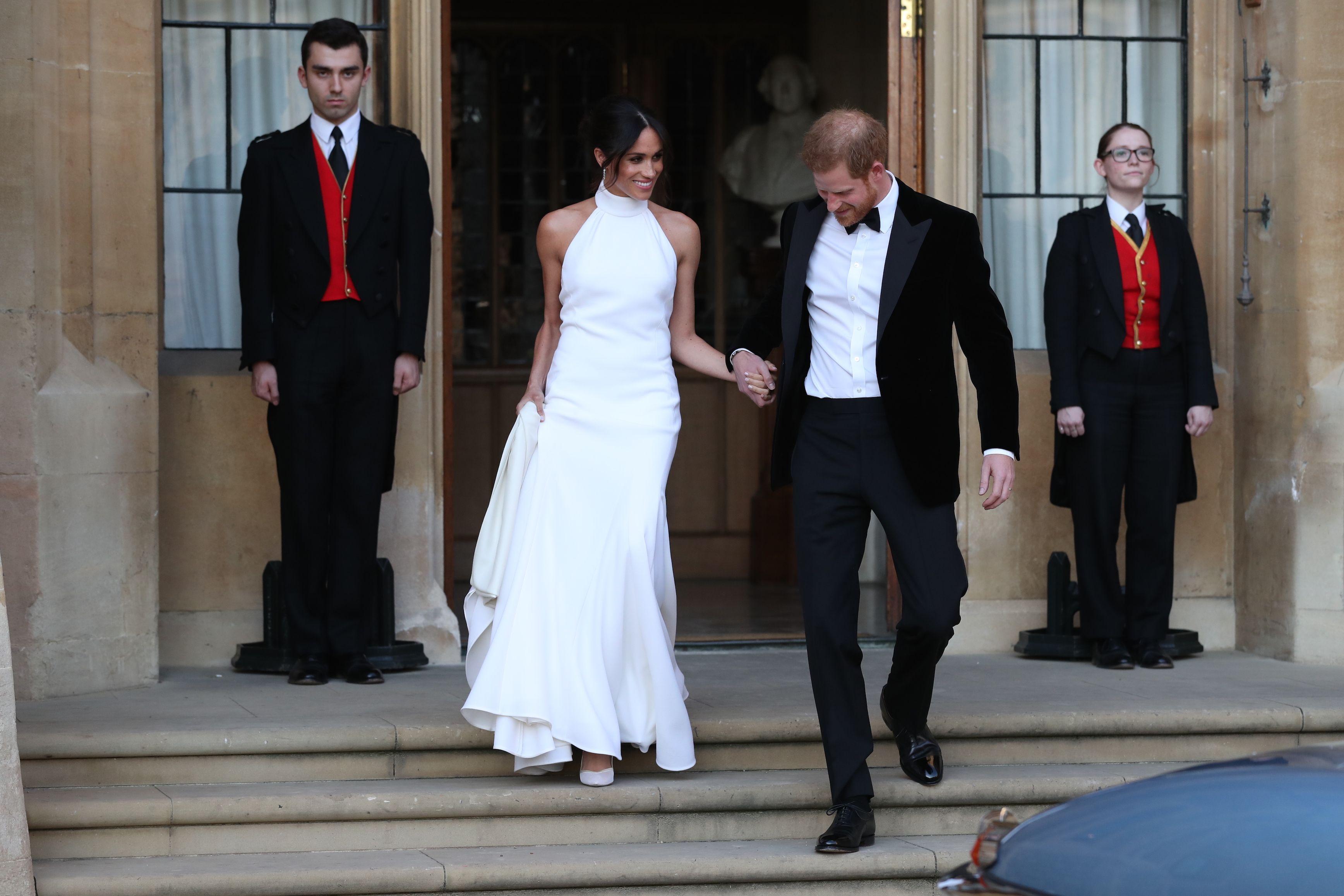 Matrimonio Harry E Meghan : Royal wedding il cast di suits al completo al matrimonio di