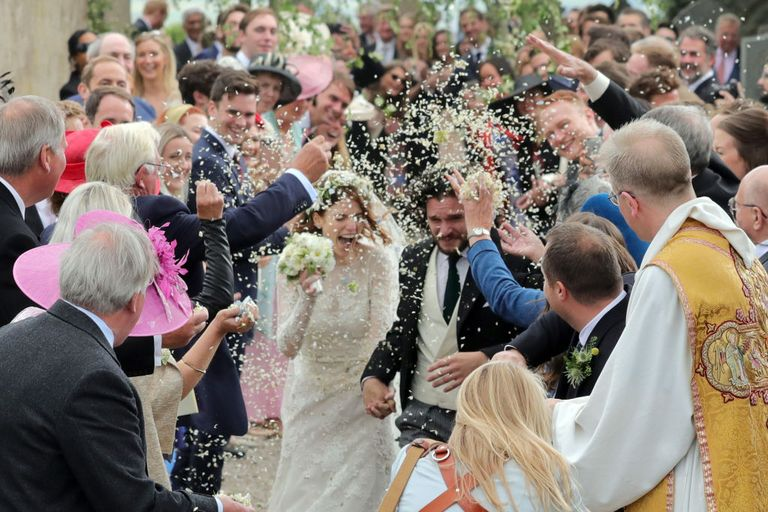 Matrimonio Tema Game Of Thrones : Kit harington e rosie leslie le foto del matrimonio