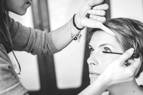 Hair, Face, Photograph, Eyebrow, Skin, Beauty, Hairstyle, Makeup artist, Eyelash, Head,