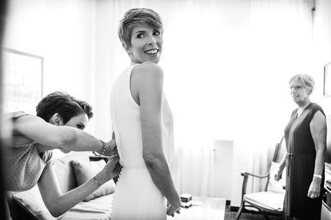 Photograph, Black, Black-and-white, Monochrome, Snapshot, Photography, Monochrome photography, Fun, Wedding, Ceremony,