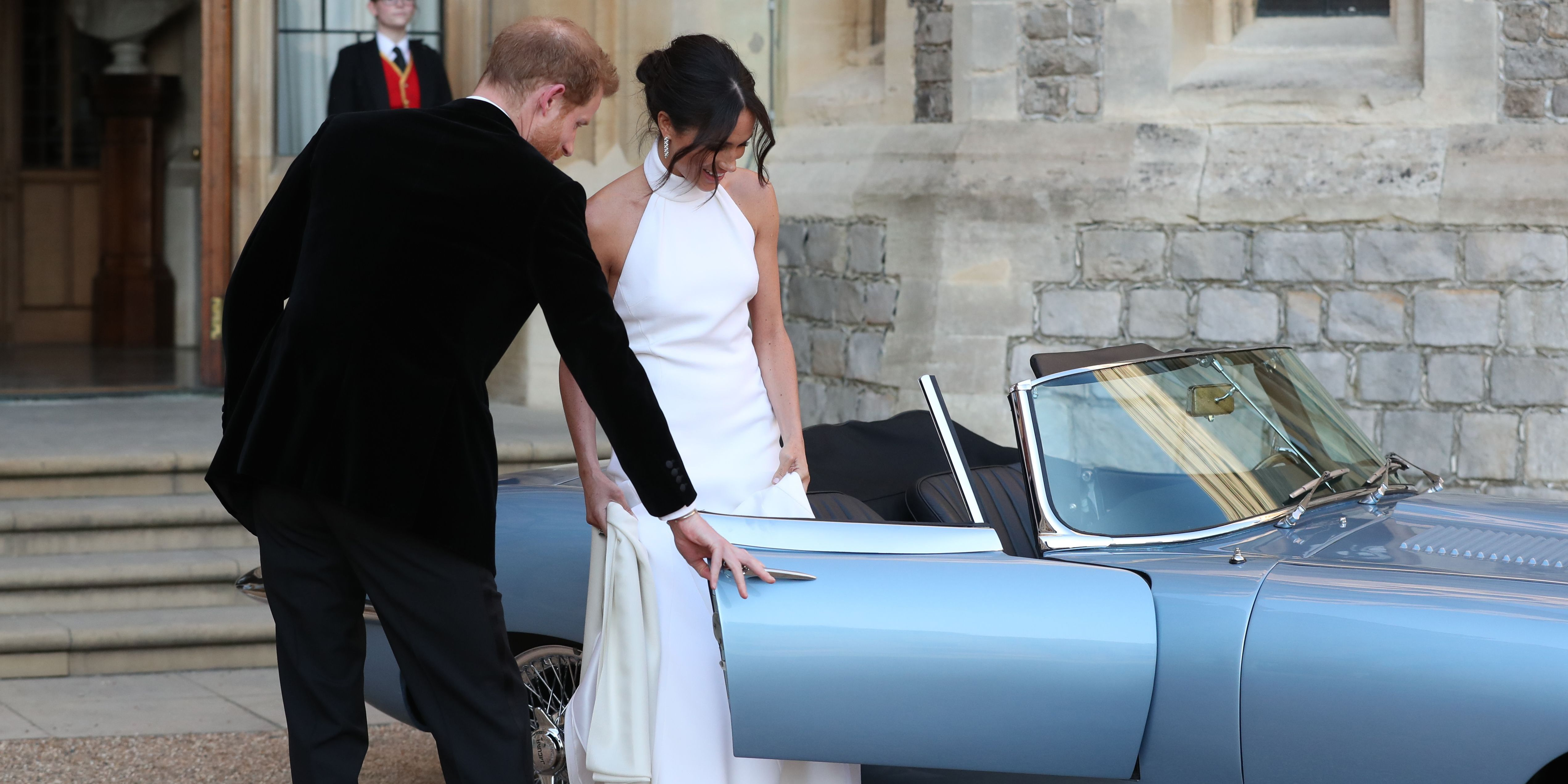 matrimonio-meghan-harry-macchina-jaguar