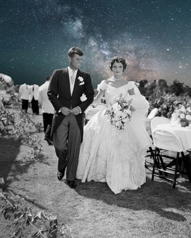 0afda2099163 Il matrimonio di Jackie Kennedy è stato a tutti gli effetti il più  impeccabile e pazzesco di sempre. Nonostante tutto e tutti