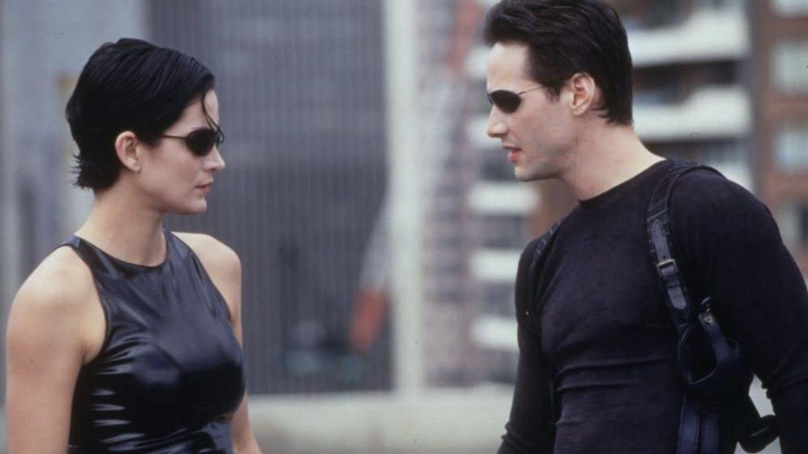 Matrix Keanu Reeves y Carrie-Anne Moss