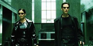 Matrix, Keanu Reeves Carrie Anne Moss